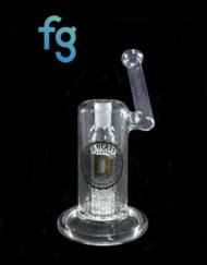 available at Fourward Glass Gallery & Smokeshop in St. Petersburg, FL Handblown Custom Scinetific Glass Tree Arm Bubbler 14mm by Diesel Glass