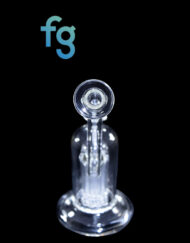Diesel Glass Custom Hand Blown 60x5 10 Tree Arm Perc Bubbler available at Fourward Glass Gallery in Downtown St. Petersburg, Florida