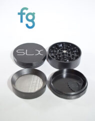 SLX Grinders - SLX V2.0 Black 4 Piece Aluminum Herb Grinder