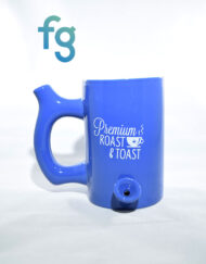 Large Ceramic Coffee Mug Pipe available at Fourward Glass Gallery & Smokeshop in St. Petersburg, FL