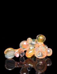 Custom Hand Blown Heady Fumed Glass Sherlock Dry Pipe By Heffe Glass available at Fourward Glass Gallery & Smoke Shop in Downtown St. Petersburg, Florida