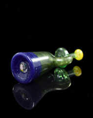 Custom Hand Blown Heady Glass 10mm Tweek Microlite Dab Rig Minitube By Solo Glass available at Fourward Glass Gallery & Smoke Shop in Downtown St. Petersburg, Florida