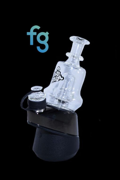 Custom Hand Blown Heady Glass Puffco Peak and Peak Pro attachment By Boro Farm