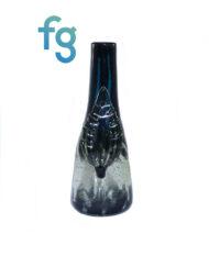 Custom Hand Blown UV Reactive Heady Glass Sake Bottle Waterpipe by Goblin King available at Fourward Glass Gallery & Smokeshop in St. Petersburg, FL