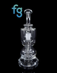 Custom Hand Blown Scientific Glass Titan Recycler Dab Rig By MJ Arsenal available at Fourward Glass Gallery & Smoke Shop in Downtown St. Petersburg, Florida