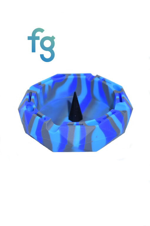 Diamond Silicone Debowler Ash Tray for hand blown heady glass pipes and bowls available at Fourward Glass Gallery & Smoke Shop in St. Petersburg Florida