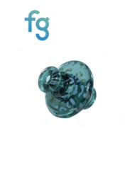 available at Fourward Glass Gallery & Smokeshop in St. Petersburg, FL Custom Hand Blown Spinner Cap with Terp Pearl by El3ctro B