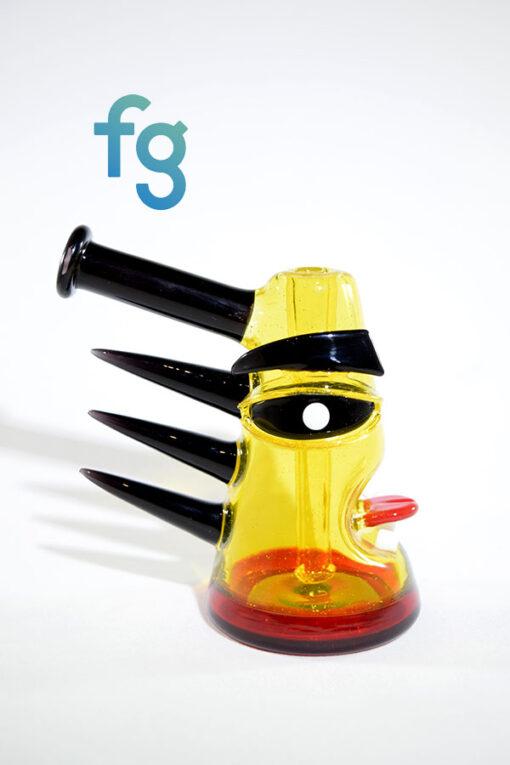 Etai - Terps (CFL) Shredderz High End Custom Head Glass Waterpipe Vapor Rig