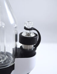 Focus V Carta Portable E-Rig Electronic Dab Rig with Waterpipe Attachment available at Fourward Glass Gallery & Smoke Shop in Downtown St. Petersburg Florida