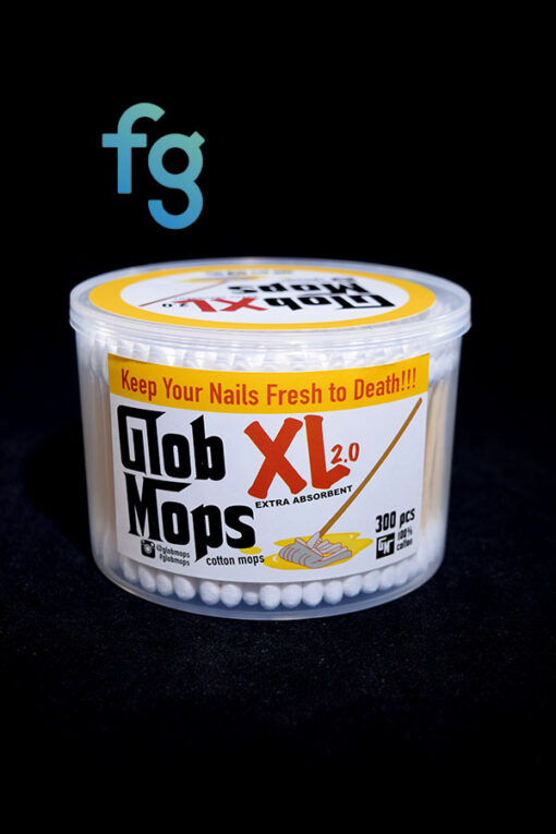 available at Fourward Glass Gallery & Smokeshop in St. Petersburg, FL Best price for Glob Mops - XL 2.0 300pc Cotton Swab, Keep your Quartz Nail Clean