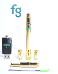 Ooze 510 Thread Battery Dab Pen for Cartridges and includes Atomizer for Concentrates with adjustable voltage