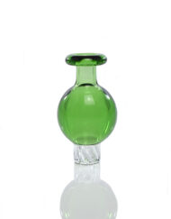 Gordo Scientific Green OG Bubble Spinner Carb Cap for Heady Glass Dab Rigs available at Fourward Glass Gallery & Smoke Shop in St. Peterburg, Florida