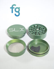 SLX Grinders - SLX V2.0 Green 4 Piece Aluminum Herb Grinder