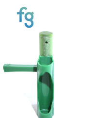 available at Fourward Glass Gallery & Smokeshop in St. Petersburg, FL Ooze - Green EZ Plastic Pipe with Metal Removable Bowl Piece with swing cap and removable poker