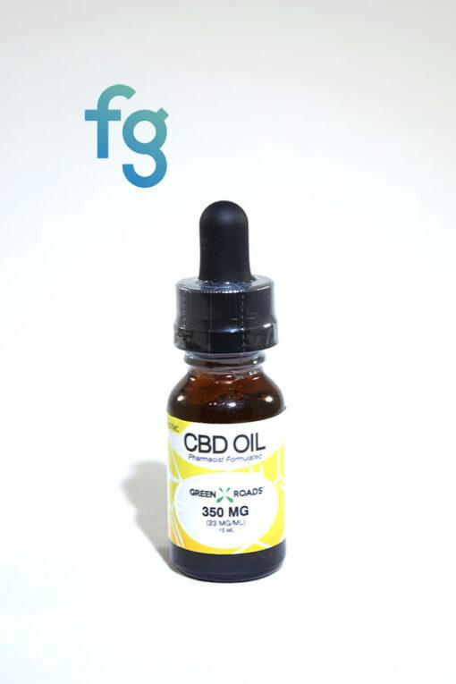 Best Price CBD Online Green Roads - 350mg CBD Hemp Oil for Vaporizer or Sublingual Use