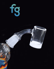 available at Fourward Glass Gallery & Smokeshop in St. Petersburg, FL Best Price Highly Educated Gavel V3 Quartz Opaque Bottom Banger 14mm 55 Degree Female Joint for custom heady glass rigs