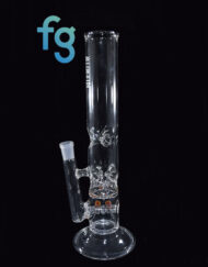 Custom Hand Blown Heady Glass Inline Perc to Pinch Perc with Ice Pinch Waterpipe Tube by Austin Made Glass Available At Fourward Glass Gallery & Smoke Shop in St. Petersburg, Florida