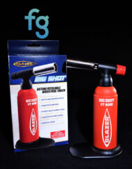 Best price for Limited Edition Lava Red Blazer Big Shot Butane Torch with Glow in the Dark label