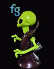 OG Ghost - Custom Heady Glass Emperor Alien Rig Custom High End Glass Waterpipe Vapor Rig