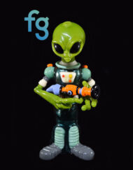 OG Ghost - Custom Heady Glass Alien Commander Rig Custom High End Glass Waterpipe Vapor Rig