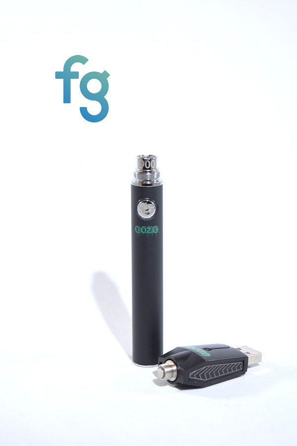 Ooze - 900mAh 510 Thread Vaporizer Vape Pen Battery with Smart USB Charger