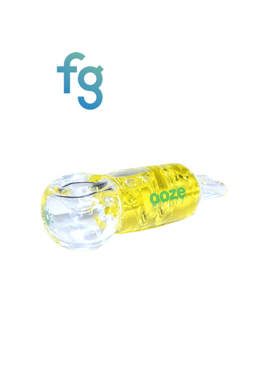 Yellow Ooze Glycerin Freezable Dry Pipe