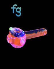 Glycerin Lava Lamp Custom Hand Blown Heady Glass Dry Pipe Available At Fourward Glass Gallery & Smoke Shop in Downtown St. Petersburg, Florida