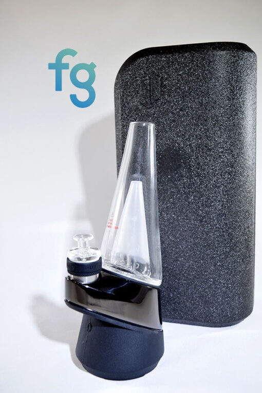Puff Peak - High End Glass Electronic all in one Vaporizer Waterpipe Kit