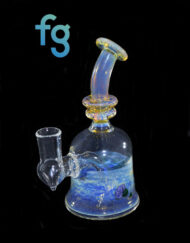 dab rig available at Fourward Glass Gallery & Smokeshop in St. Petersburg, FL Custom Hand Blown Heady Glass 14mm Tree Minitube Banger Hanger Minitube by Blissful Glass