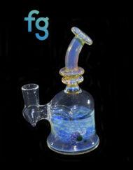 dab rig available at Fourward Glass Gallery & Smokeshop in St. Petersburg, FL Custom Hand Blown Heady Glass 14mm Tree Minitube Banger Hanger Minitube by Blissful Glass
