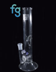 Custom Hand Blown Heady Glass Inline Perc with Ice Pinch Waterpipe Tube by Austin Made Glass Available At Fourward Glass Gallery & Smoke Shop in St. Petersburg, Florida