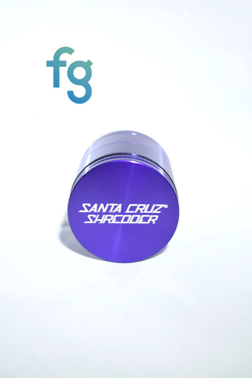 Santa Cruz Shredder Medium 4-Piece Herb Grinder available at Fourward Glass Gallery & Smokeshop in St. Petersburg, FL