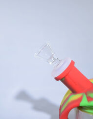 Ooze Silicone and Glass Kettle Bubbler Waterpipe and Rig Combo available at Fourward Glass Gallery & Smoke Shop in St. Petersburg Florida