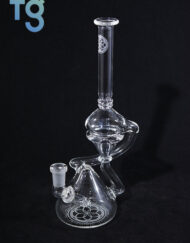 Seed Of Life Glass Hydra Recycler Waterpipe
