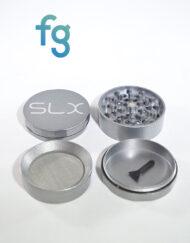 SLX Grinders - SLX V2.0 Silver 4 Piece Aluminum Herb Grinder