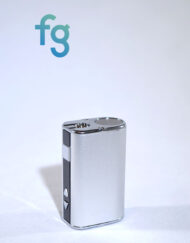 Silver Ismoka eleaf 510 thread cape battery for cartridges available at Fourward Glass Gallery & Smokeshop in St. Petersburg, FL