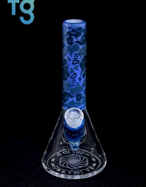 Spartan Series Minitube Heady Glass Waterpipe Vapor Rig by Dream Lab Glass