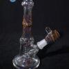 Wil Glass Wig Wag Carved Custom Heady Glass Minitube Waterpipe