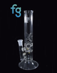 Custom Hand Blown Heady Glass Pinch Perc with Ice Pinch Waterpipe Tube by Austin Made Glass Available At Fourward Glass Gallery & Smoke Shop in St. Petersburg, Florida