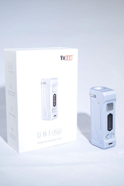 available at Fourward Glass Gallery & Smokeshop in St. Petersburg, FL Best Price Online Yocan Uni Pro 510 Thread Cartridge Alternative Adjustable Drop Down Vape Battery
